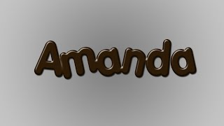 Photoshop tutorial-Efeito chocolate
