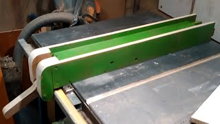 getlinkyoutube.com-35-Homemade Tablesaw fence / guide table de scie