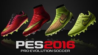 getlinkyoutube.com-TODAS AS CHUTEIRAS DO PES 2016 !