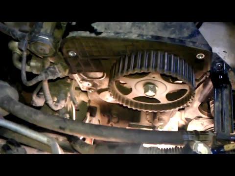 Замена ремня грм Kia Sportage 2007 2.0 contitech gmb