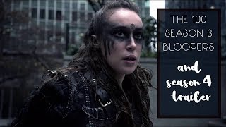 getlinkyoutube.com-The 100 Season 3 Blooper Reel (+ Comic Con Season 4 Teaser) [HD]