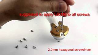 getlinkyoutube.com-DJI Phantom / 2 / 3 Motor Reinforcement Mount