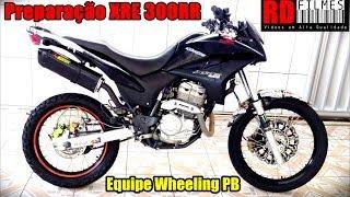getlinkyoutube.com-XRE 300RR Equipe Wheeling PB - Preparação Completa - RD Filmes