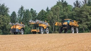 Challenger Proudly Present the RoGator Family: RG300, RG600D and the RG700!