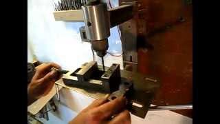 getlinkyoutube.com-Самодельный сверлильный станок. Homemade drill press.