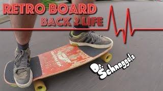 getlinkyoutube.com-RETRO SKATEBOARD back 2 life: Scheunenfund 22 Jahre alt.... retrofit