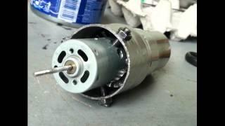 getlinkyoutube.com-Homemade jet engine   (PHIL-V40237) turbofan