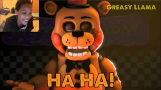 [FNAF SFM] The Finale - FNAF 1-4 Song (Collab) REACTION | FIVE NIGHTS