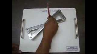 getlinkyoutube.com-Hart's Straight line Mechanism