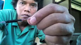 getlinkyoutube.com-Cara buat racik burung Wak-wak /Ruak-ruak /Chim quock  model gantung.