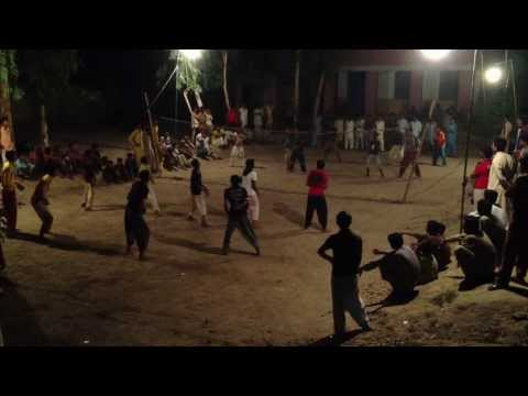 Flood light volley ball in Mouza talib, Chiniot, Pakistan