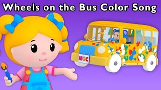 getlinkyoutube.com-Messy Color Adventure | Wheels on the Bus Color Song and More | Baby Songs from Mother Goose Club!