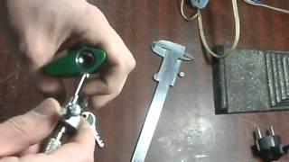 getlinkyoutube.com-Вскрытие дискового замка с квадратным ключом