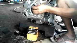 getlinkyoutube.com-Rantai Keteng Motor Honda Mega Pro Pada Pemasangan Di Posisi Top Mesin