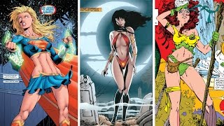 getlinkyoutube.com-Top 10 Sexiest Female Comic Book Characters of All Time