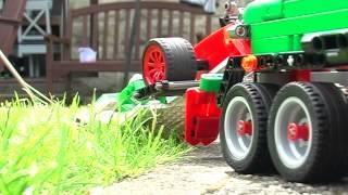 getlinkyoutube.com-Lego Technic Service Truck - Recovery of Francesco