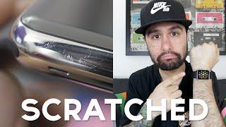 getlinkyoutube.com-Apple Watch SCRATCHES + FIX! (Scratchgate?!)
