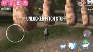 getlinkyoutube.com-Goatville - All trophies (part 1) | Goat Simulator IOS
