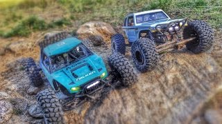 getlinkyoutube.com-Axial Racing Yeti and Spawn