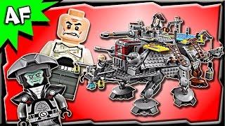 getlinkyoutube.com-Lego Star Wars CAPTAIN REX's AT-TE 75157 Stop Motion Build Review