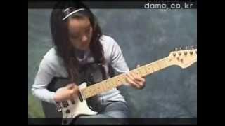 getlinkyoutube.com-일렉기타 펑키리듬 연주Electric Guitar Fucky Rhythm play -데임 세인트T250 일렉기타Dame Saint T250