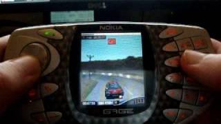 getlinkyoutube.com-Nokia N-Gage Classic/Original (Taco) Colin McRae Rally 2005 Gameplay