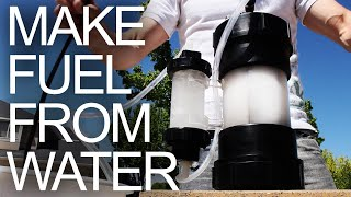 getlinkyoutube.com-HHO Generator - Water to Fuel Converter (aka Explosive Gas by Electrolysis)