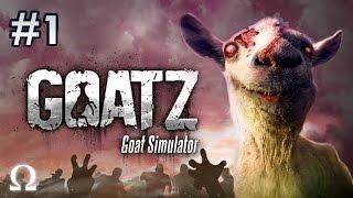 getlinkyoutube.com-BRAAAAINZ, WE WANTZ GOATZ BRAAAINZ!   GoatZ (Goat Simulator) #1