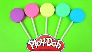 Learn-A-Word! Play Doh Lollipops for Children, Toddlers & Babies! Spelling Words
