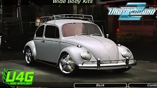 Need For Speed Underground 2  Volkswagen Beetle 1963 tuning by United4Games