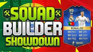 FIFA 16 SQUAD BUILDER SHOWDOWN!!! 99 RATED CRISTIANO RONALDO!!! TOTS CR7 Squad Duel