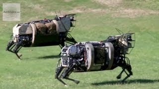 getlinkyoutube.com-AlphaDog, U.S. Marines Robot Pack Animal - Legged Squad Support System
