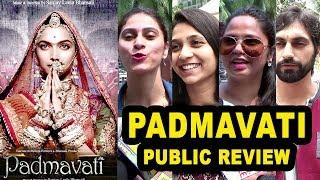 Padmavati (Padmavat) Movie Public REVIEW - First Day First Show Review -Ranveer,Deepika,Shahid