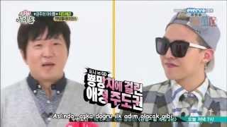 getlinkyoutube.com-Weekly Idol G-Dragon Bölüm 1 (Türkçe Altyazılı)