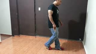 Aprenda a Bailar Los Pasos Basicos de la Cumbia Libre #2 (BASICOS)