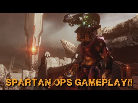 Halo 4 News - Spartan Ops and Multiplayer Gameplay + MORE!!!