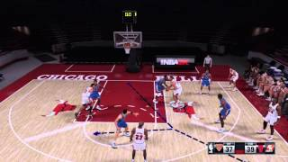 NBA 2K16 How To Play Triangle Freelance Offense - Full Introduction