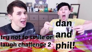 getlinkyoutube.com-try not to smile or laugh | dan and phil | PART 2