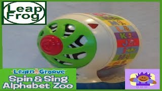 getlinkyoutube.com-2006 LeapFrog Baby Spin & Sing Alphabet Zoo Ball