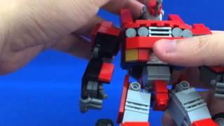 getlinkyoutube.com-LEGO CAR-ROBOT TRANSFORM!(レゴで変形ロボ2)