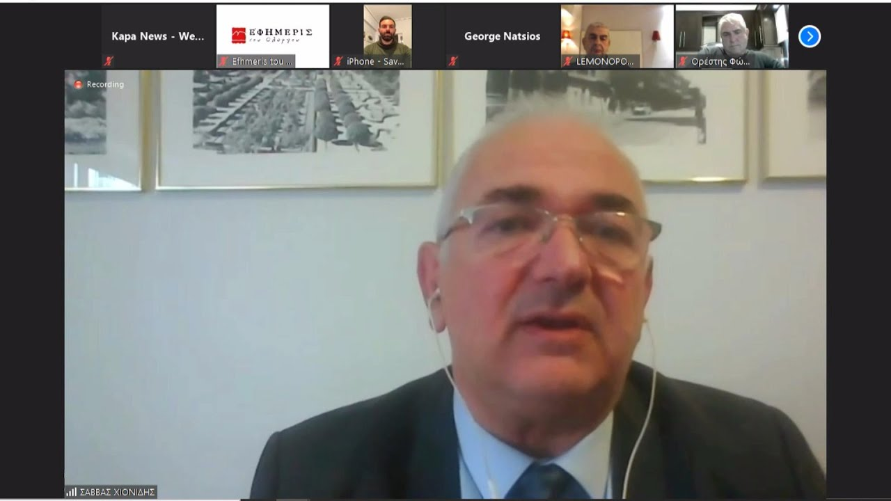 """Η σημερινή συνέντευξη τύπου του επικεφαλής του συνδυασμού """"Πολίτες σε Δράση"""" κ. Σάββα Χιονίδη"""