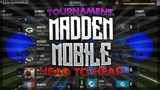 getlinkyoutube.com-Madden NFL Mobile 16 - CLEAN SHEETING THIS KID + RKO! (League Tournament)