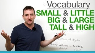 getlinkyoutube.com-6 confusing words - small & little, big & large, tall & high
