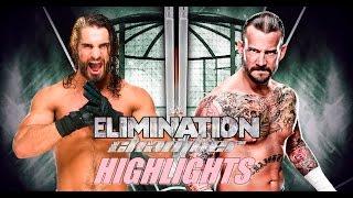 getlinkyoutube.com-WWE2K16 Universe Mode - Elimination Chamber Highlights