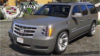 getlinkyoutube.com-GTA V Mods -   Cadillac Escalade ESV
