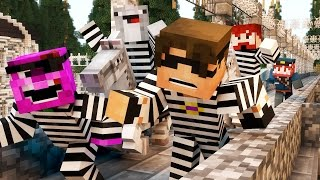 getlinkyoutube.com-Minecraft Mini-Game: COPS N ROBBERS! (THE BUTT KNIGHTS?..) /w Facecam