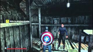 getlinkyoutube.com-Capitán América - Super Soldado - Parte 1