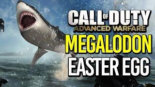ADVANCED WARFARE: MEGALODON EASTER EGG! #SharkWeek2017