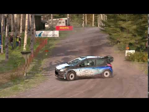 DiRT Rally 4 finland perfect turn on hundai