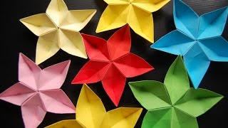 getlinkyoutube.com-origami flower sakura